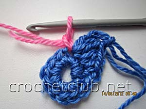 мастер-класс вязание спиральных квадратов 8