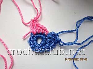 мастер-класс вязание спиральных квадратов 9