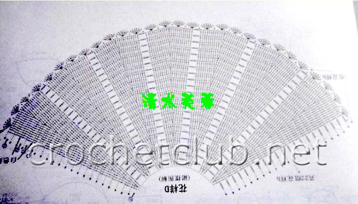 Схемы вязания крючком легких ажурных