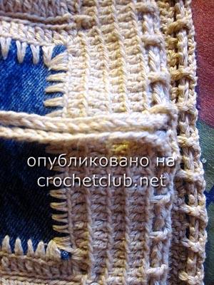 джинсы и вязание - сумка 4
