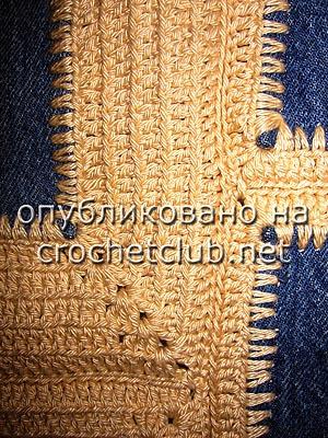 джинсы и вязание - сумка 5