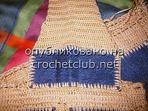 джинсы и вязание - сумка 6