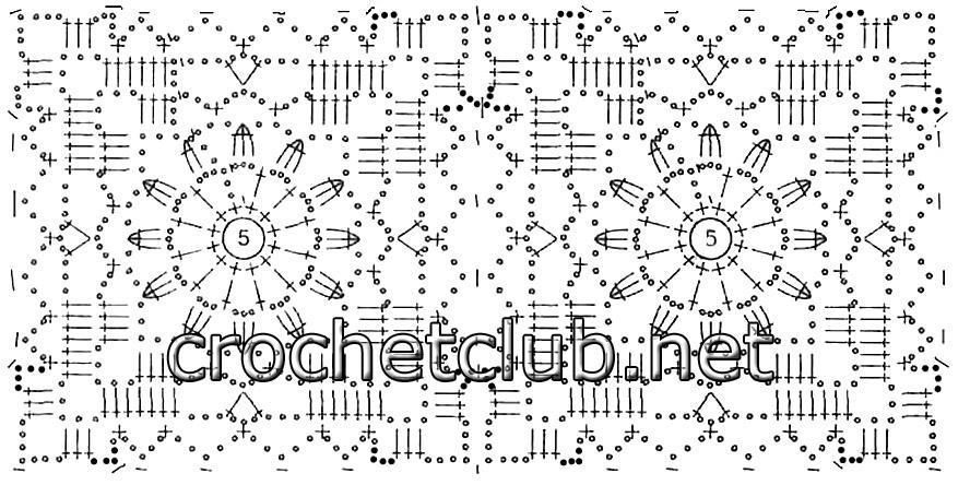 Ткань и вязание крючком схемы и описание 82