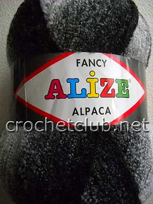 пряжа alize alpaca fancy
