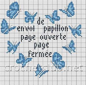 схема рисунка бабочки