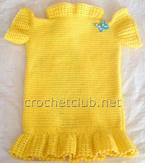 вязаное платье-туника котик 2