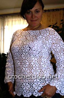 блузка из мотивов
