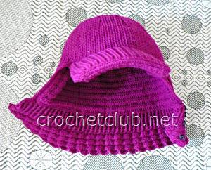 шапка-шлем с козырьком 2