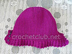 шапка-шлем с козырьком 3