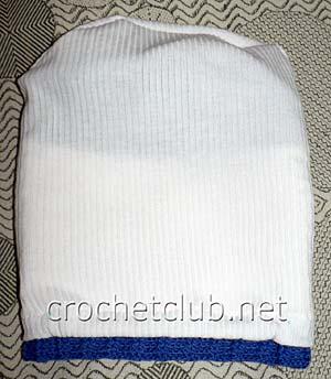 шапка с подкладкой-вид изнутри