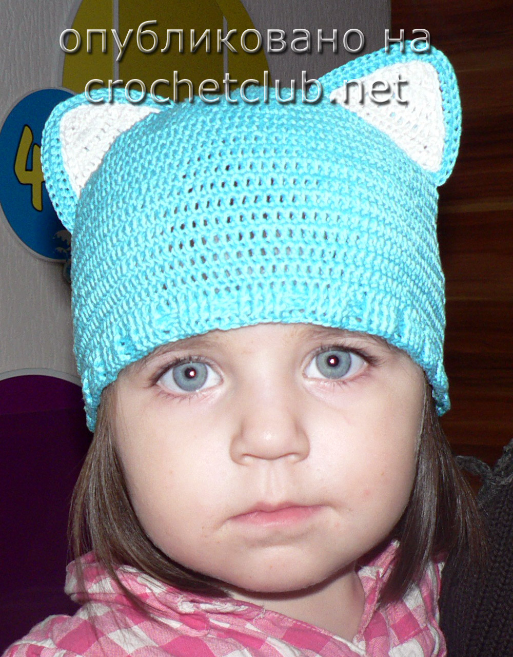 схемы и описание вязания летней шапки на девочку 7 лет