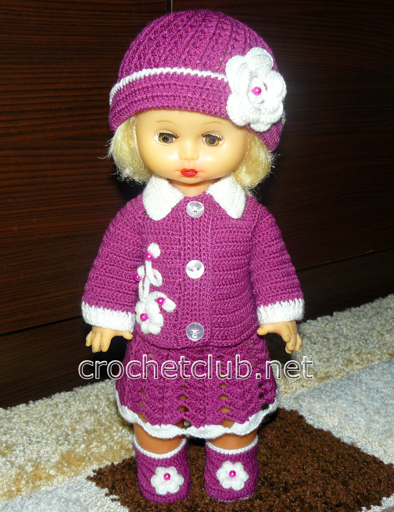 Вяжем для куклы