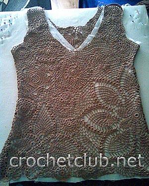 светло-коричневая блуза 2