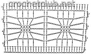 пуловер с жаккардовым рисунком-узор