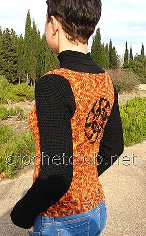 пуловер с жаккардовым рисунком 2