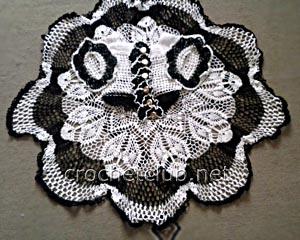 вязаное платье для девочки 1