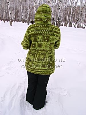 куртка связанная крючком 3