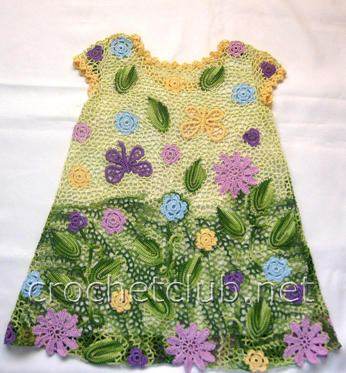 Ирландское платье для девочки