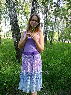 юбка цветущая сирень 1