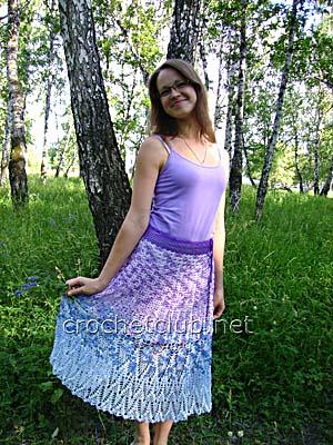 юбка цветущая сирень 2