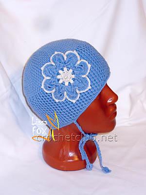 вязаная шапка изморозь