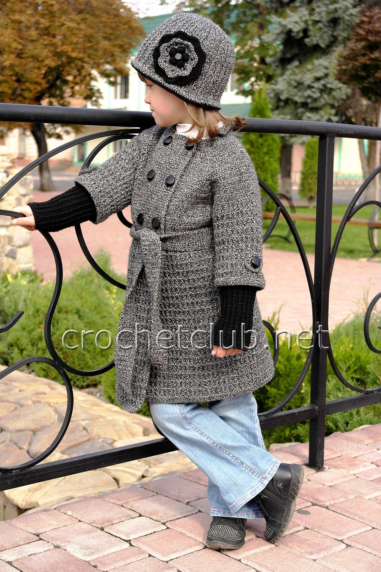 пальтишко вязаное мальчику схема