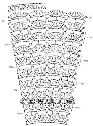 вязаный костюм карнавал-схема юбки 1