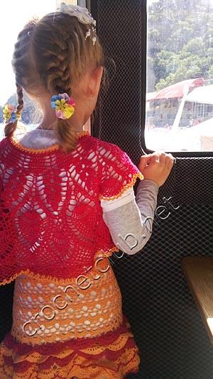 вязаный костюм карнавал 2
