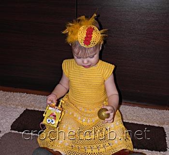 карнавальный костюм цыпочка 2