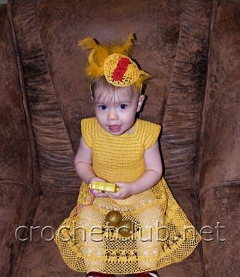 карнавальный костюм цыпочка 3