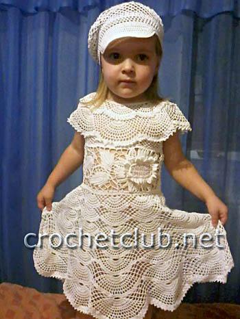 костюм для девочки снежный