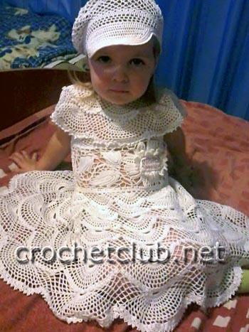 костюм для девочки снежный 1