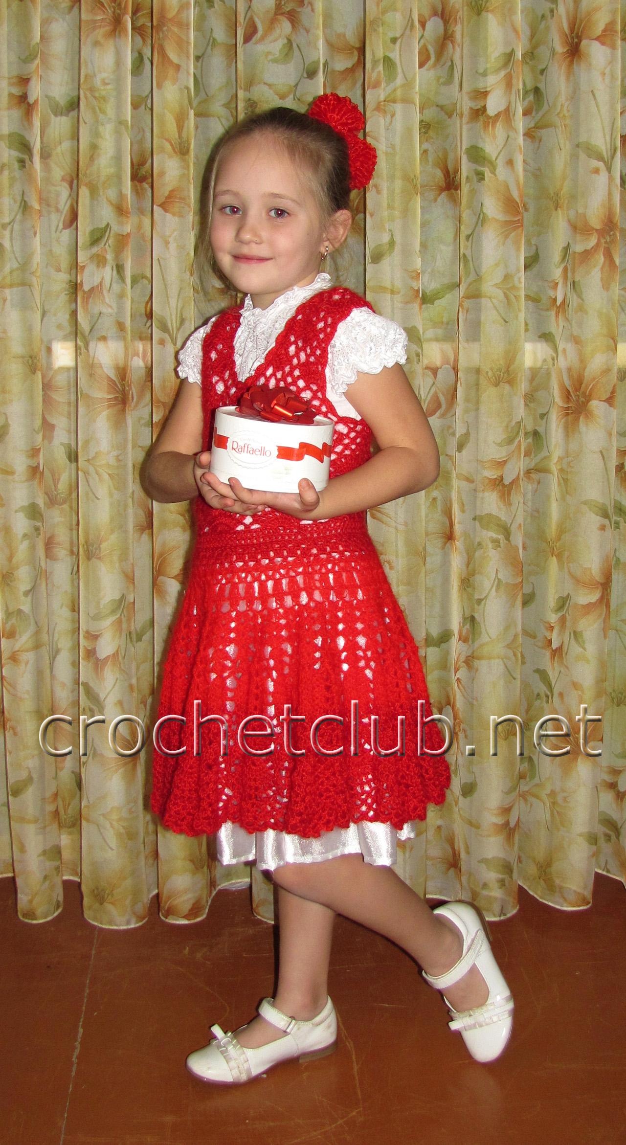 Новогодний костюм «Кармен» - Вязание Крючком. Блог Настика - photo#5