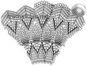 вязаный костюм метелица-схемы 2