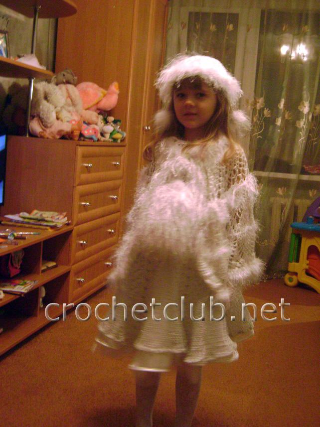 Для вязания платья