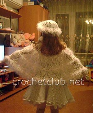 вязаный костюм метелица 3