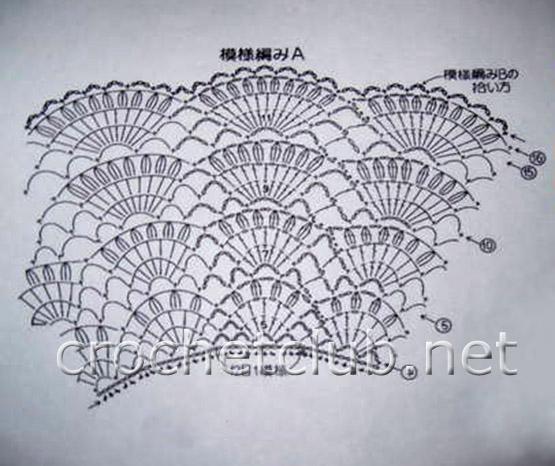 Для вязания узора жилетки