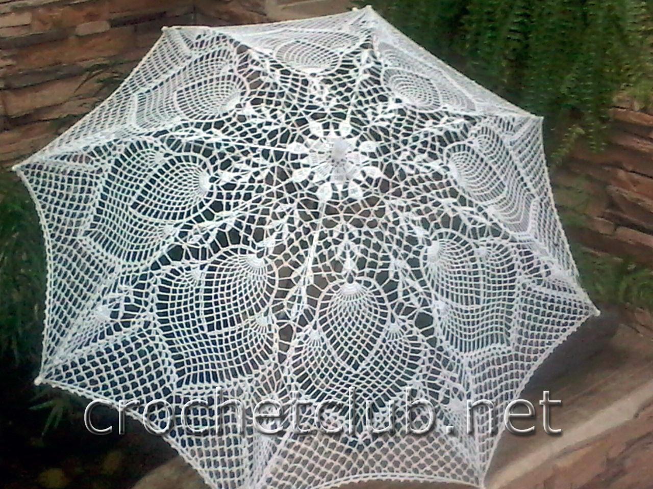 Вязанные зонтики своими руками фото 932