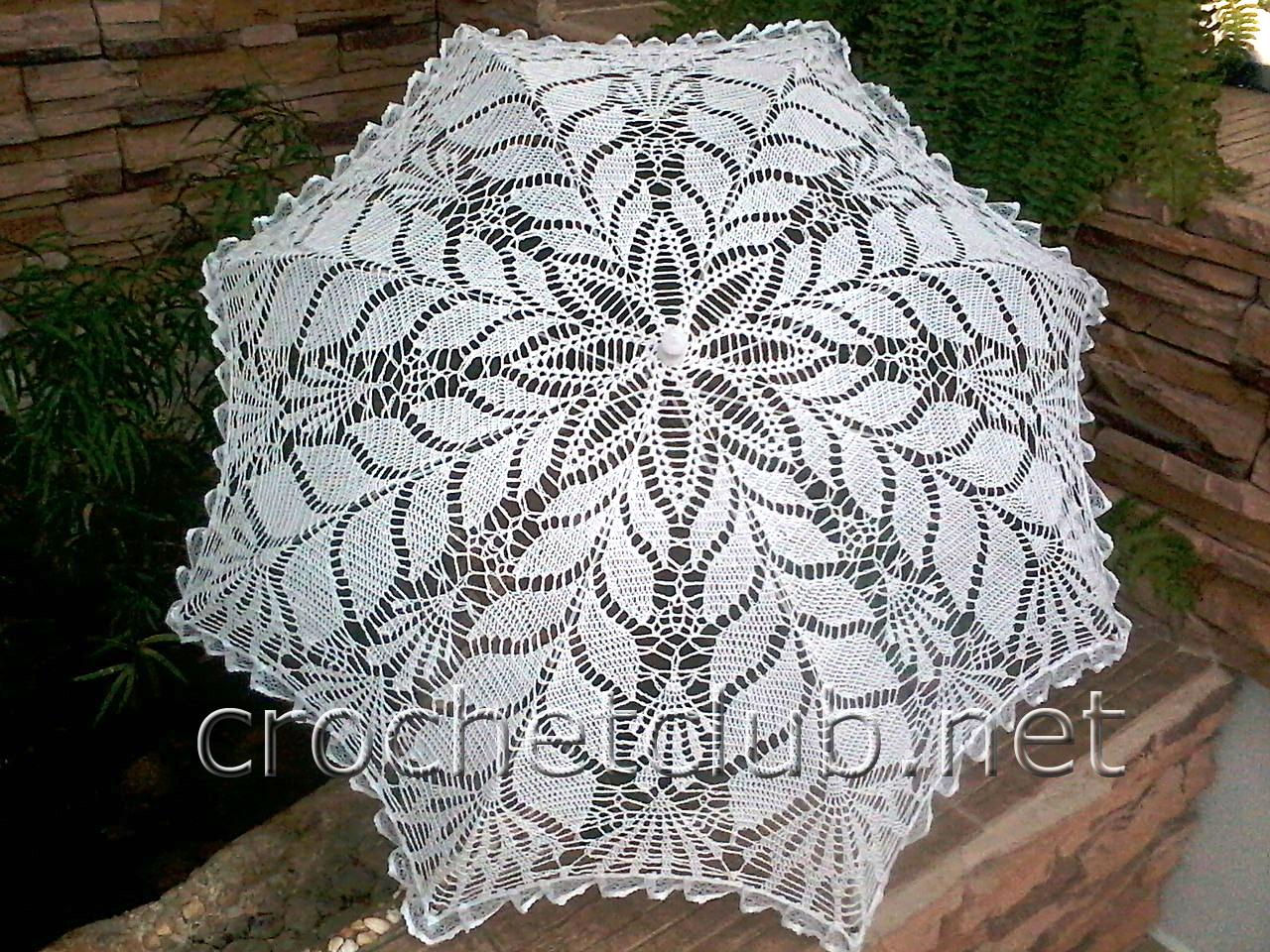 Зонты вязание спицами схемы