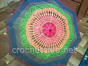 зонтик радуга-краски лета