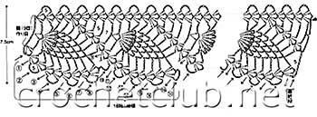 вязаное крючком платье для девочки-схема 4