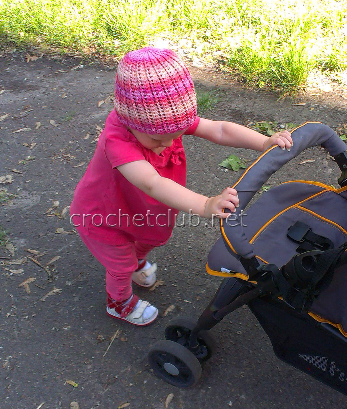 детская шапочка из бамбука схема