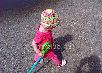 вязаная шапочка из мисс батик 2