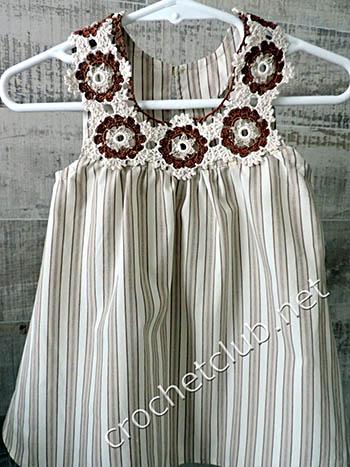 платьице из рубашки