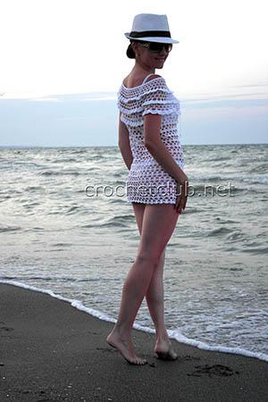 пляжная туника летний зной