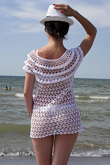пляжная туника летний зной 2