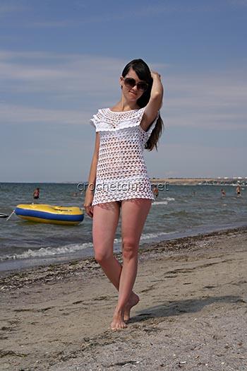 пляжная туника летний зной 3
