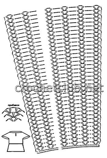 туника васильковое лето-схема 1