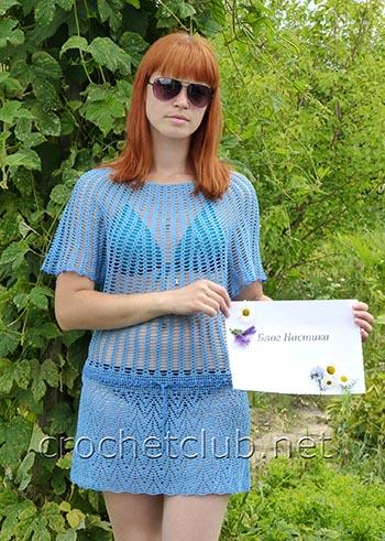 туника васильковое лето 6