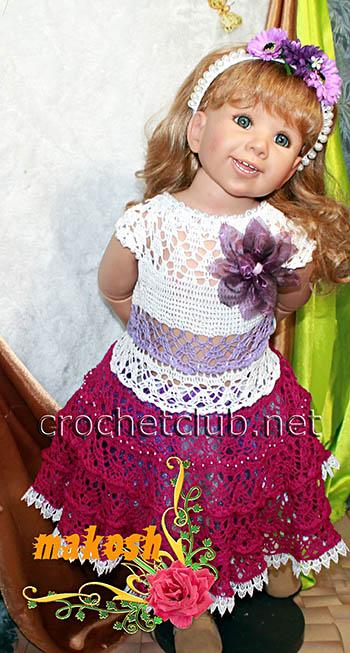 платье дуплет для девочки